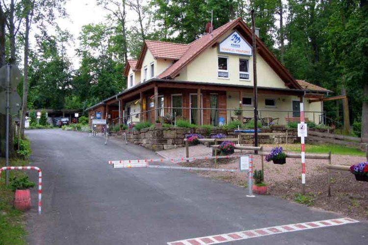 Camping midt i Tyskland
