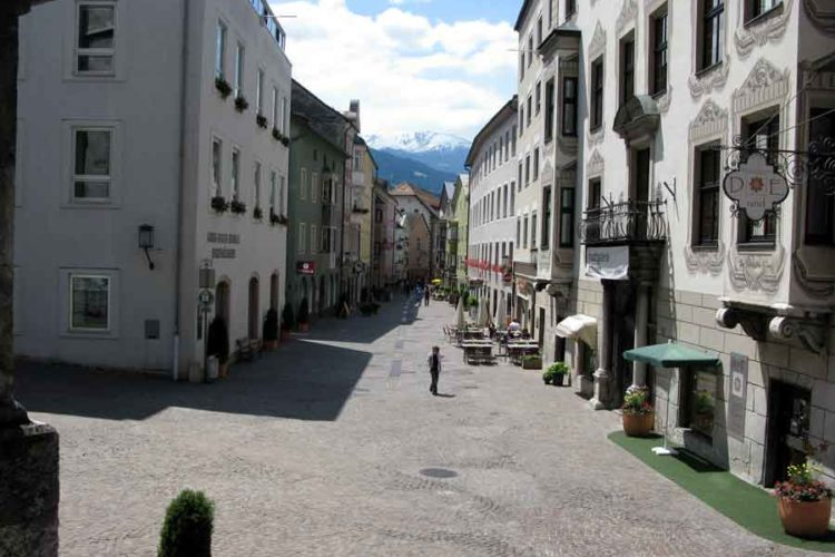 Sølvgruvebyen Schwaz