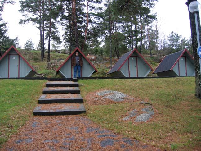 Idyll i knøttsmå hytter – Strømstad
