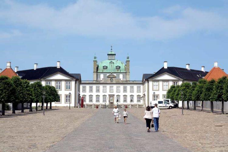 Levende slott på Sjælland