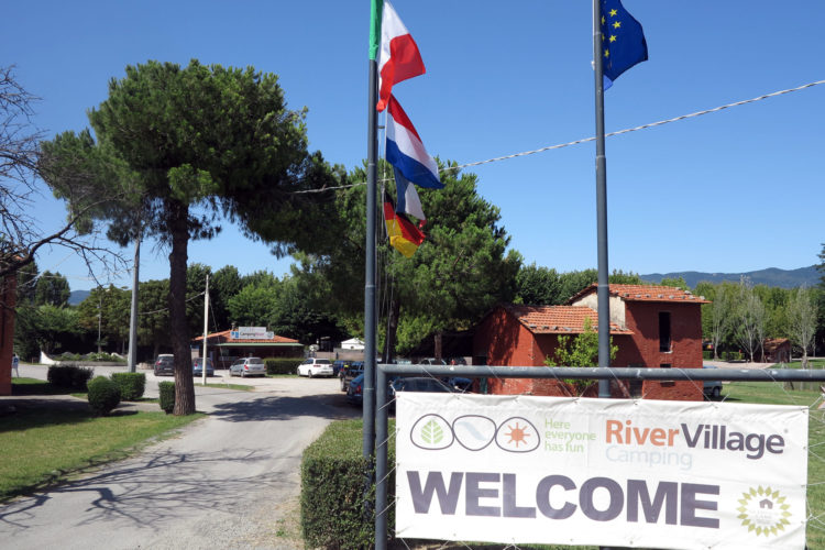 Camping ved Cinque Terre
