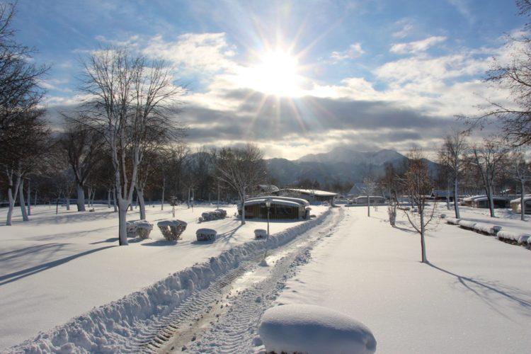 Vintercamping i syd