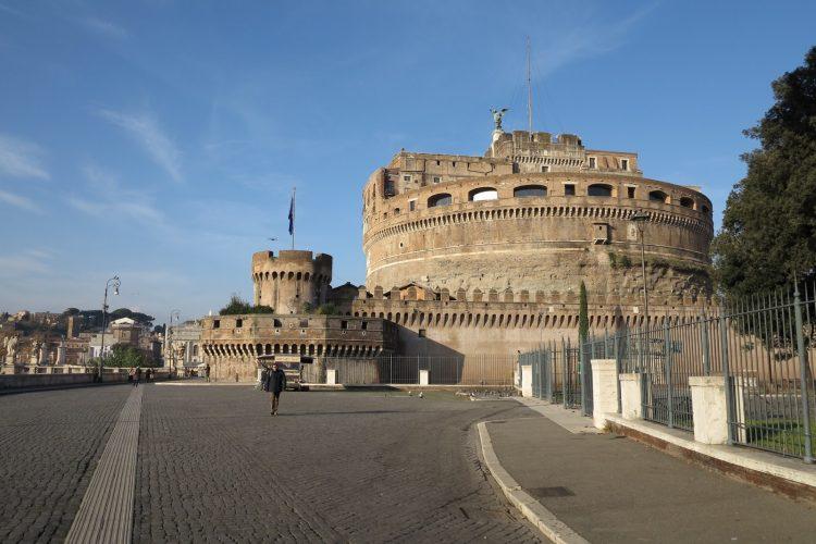 Engelens slott i Roma – Sant' Angelo